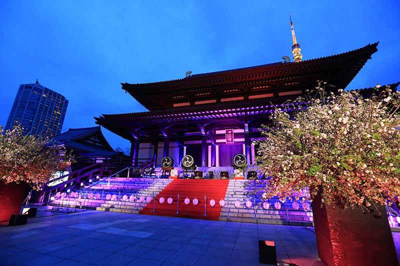 増上寺イベント